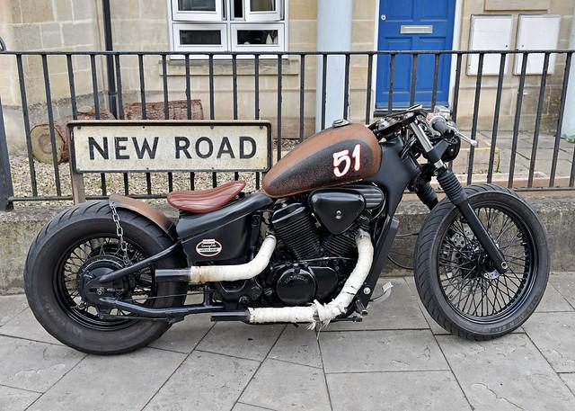 New Road..... Old Bike..