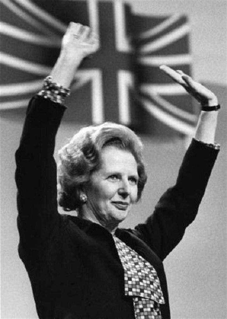 Margaret Thatcher in Brighton, England, Oct. 12, 1984 | Flickr
