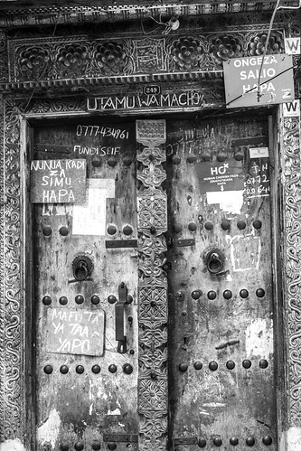 Stone Town Door | by Laura Jacobsen