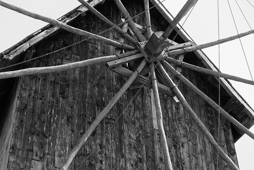 The Old Windmill In Detail
