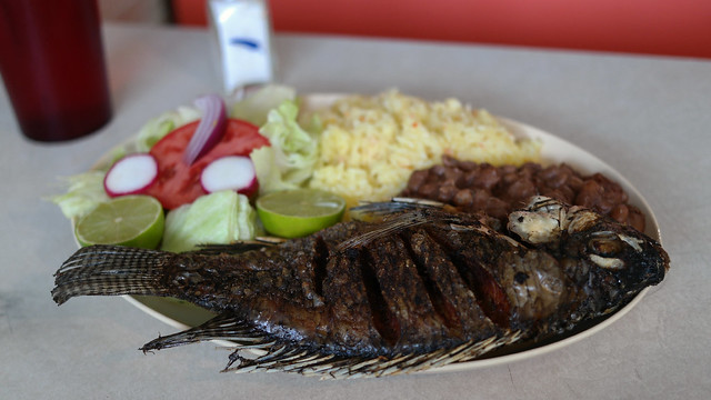 Mojarra Frita from Panaderia Y Restaurante Salvadoreño La Ventura