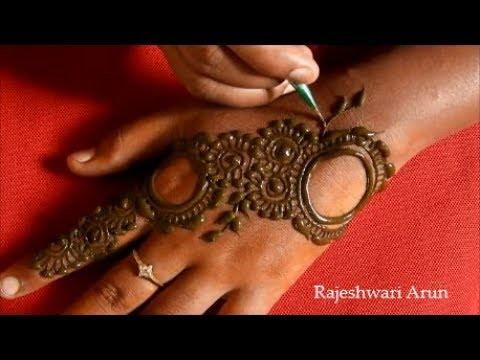 Latest Arabic Mehndi Design For Hands 2018 Simple New He