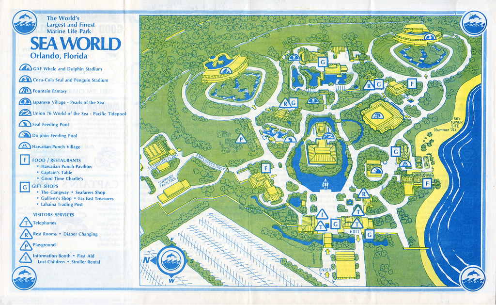 SEA WORLD Orlando guidemap (1973) | cflretail | Flickr on universal studios map, six flags map, hilton grand vacations suites at seaworld map, seaworld park map, orlando attractions map, busch gardens map, discovery cove map, aquatica orlando map, animal kingdom map, philadelphia zoo map, hollywood studios map, epcot map, disney's california adventure map, florida map, alaska sealife center map, san antonio texas map, sesame place map, disneyland map, sea life park hawaii map, magic kingdom map,