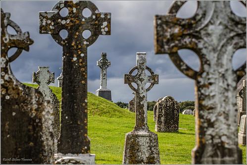 clonmacnoise antico irlanda ireland monastero rovine