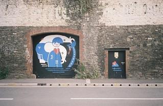 Graff opposite the Feeder | by knautia