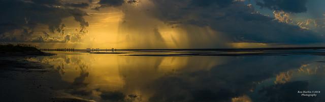 Isle of Palms Stormy Beach