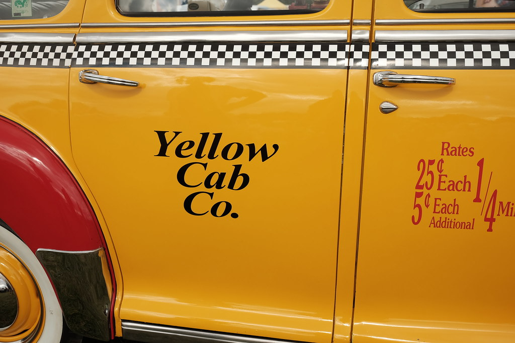 The Yellow Cab Company - Ramsey 1940's Weekend | Ken Miles | Flickr