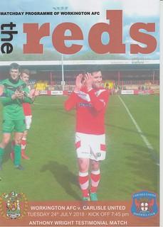 Workington Reds V Carlisle United 24-7-18 | by cumbriangroundhopper