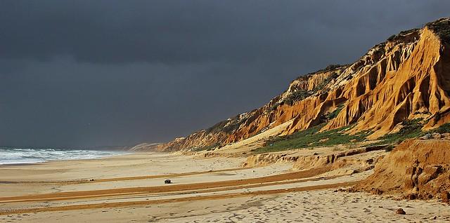Storm on the coast!