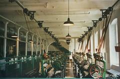 Lowell Massachusetts - Boott Cotton Mills Museum Weave Room