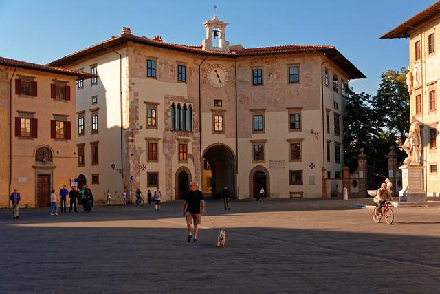 Pisa / Palazzo dell'Orlogio / Piazza dei Cavalieri