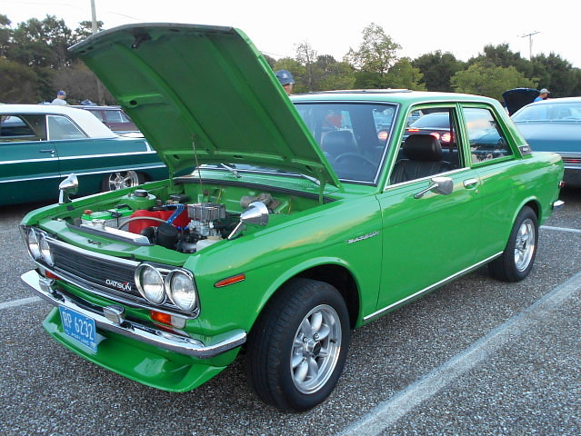 1972 Datsun 510 | Lost in the 50s Cruise Night, Marley Stati