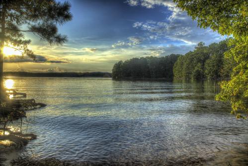ronmayhew canoneos6dmarkii lakelanier georgia water sunset