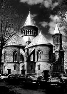 20110416 Dramatic church | by [Ananabanana]