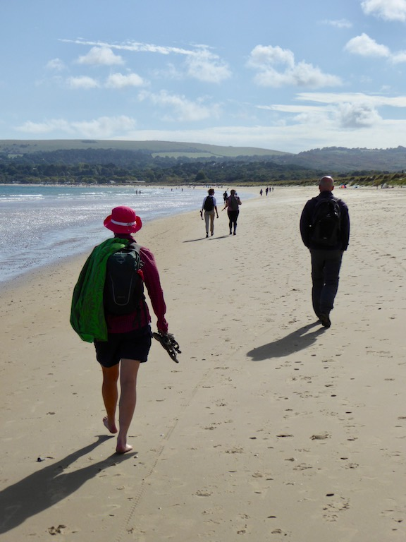 Studland Bay Branksome to Swanage walk