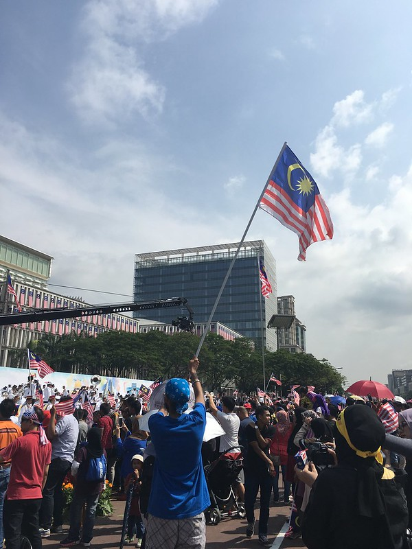MERDEKA. Malaysia's 61st Independence Day at Putrajaya. #310818 #malaysia #new #celebrate #patriot #photo