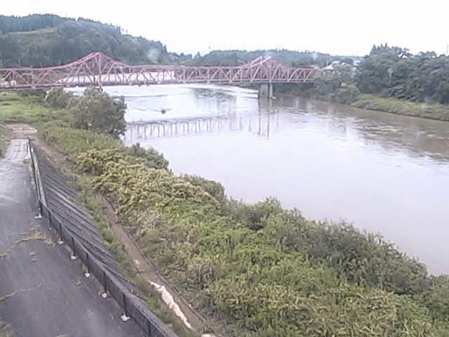 最上川堀内橋上流左岸ライブカメラ画像. 2018/09/03 12:11 ...