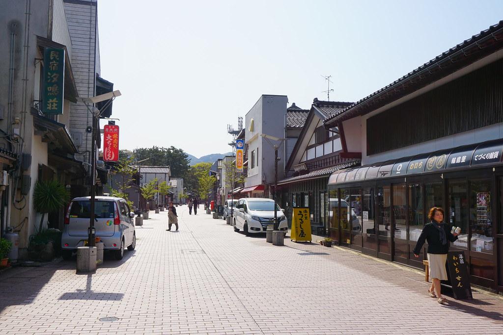 重蔵神社門前