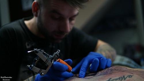 tattoo portrait greece okione billyone billybrasinikas micky sharpz mickysharpz sony sonya6000 sonyalpha sigma studio eagle