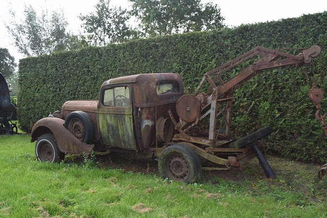 1934/1935 Buick tow truck