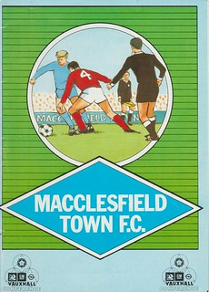 Macclesfield Town V Carlisle United 14-11-87   by cumbriangroundhopper
