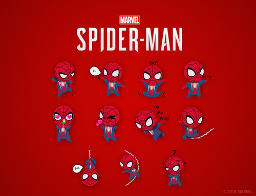 Marvel's Spider-Man: iOS Sticker Pack | by PlayStation.Blog