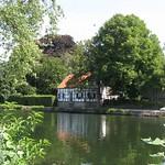 Fachwerkhaus am Ruhrufer