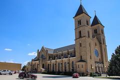 Cathedral on the Plains - St. Fidelis Basilica - Victoria, Kansas