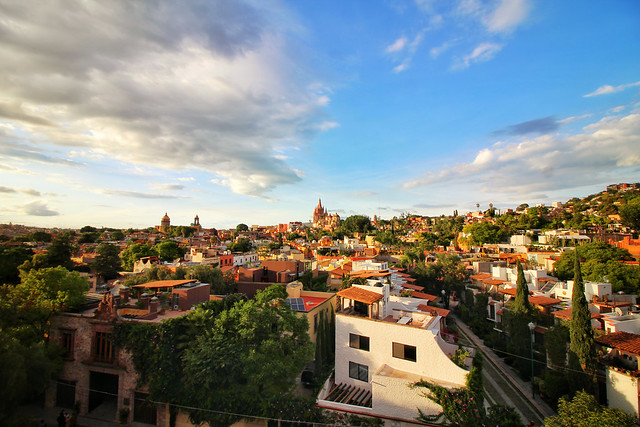 San Miguel De Allende from the Rosewood Hotel