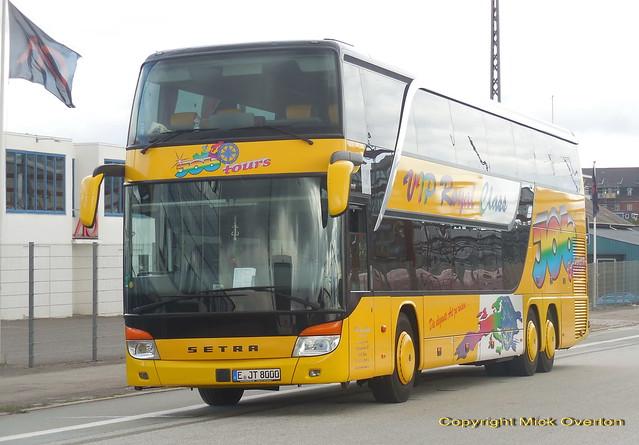 JOB Setra S431 E-JT8000 Germany