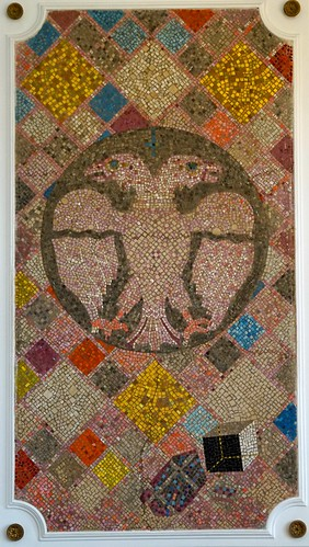 kruševac mosaic townhall serbia
