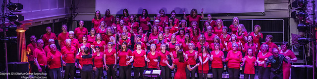 Wendy Sergeant's Vibe pop/rock choir Panorama