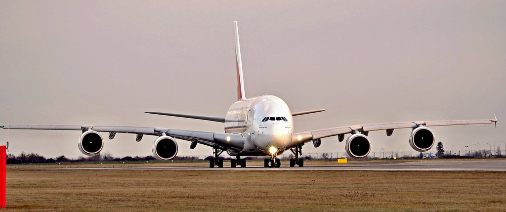 Airbus A380-861  A6-EOY — Emirates Airlines