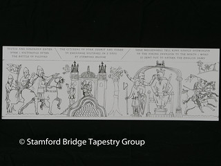 Panel 1 design | by Stamford Bridge Tapestry Project