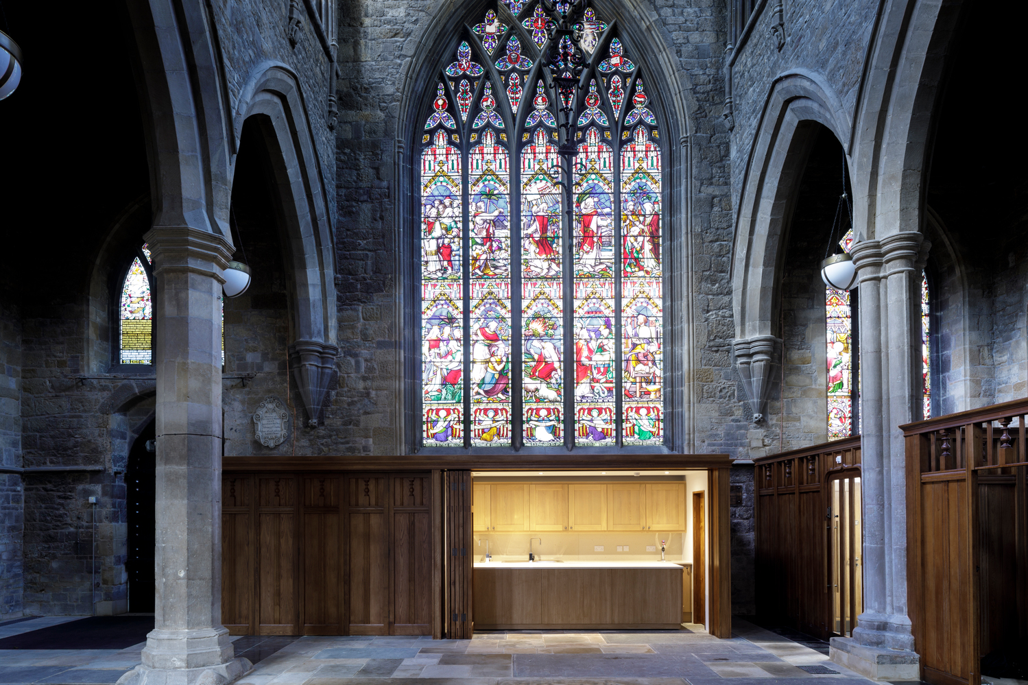 St Mary's church, Melton Mobray  - new servery
