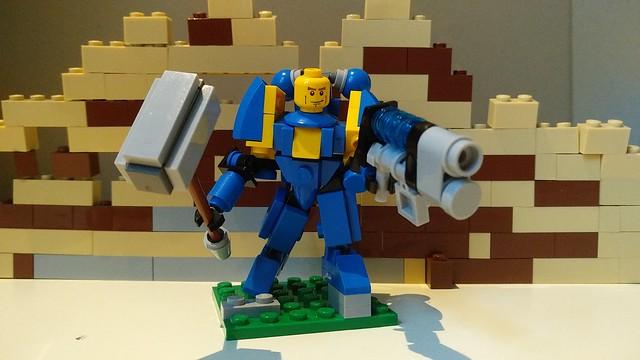 Ultramarine with Hammer and Plasma gun