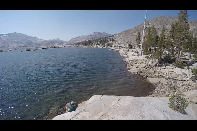 0235 GoPro panorama video from the southeastern shore of Lake Aloha