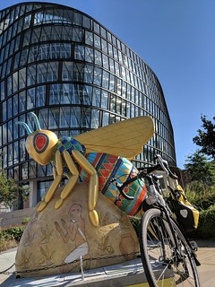 The tears of Ra by Donna Newman @Donnaedendesign at 1 Angel Square #BeeInTheCity | by dullhunk