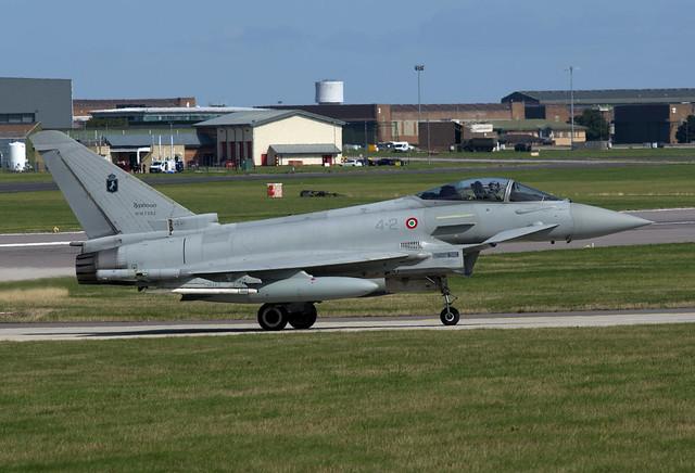 Eurofighter EF2000 MM7303 '4-2' 4 Stormo AMI 30-08-18