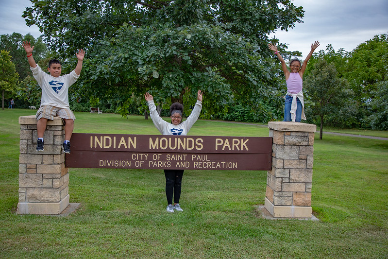 Indian Mounds Park SuperVolunteers