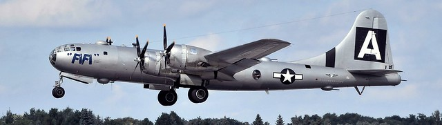 NX529B Boeing B-29A Superfortress at CYHM