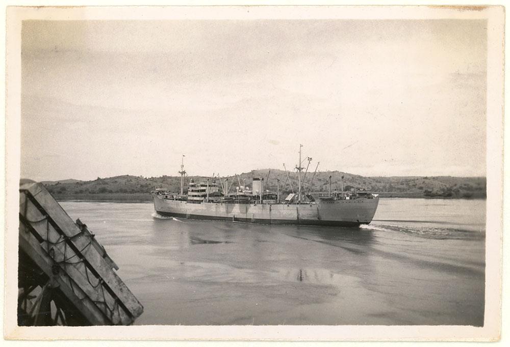 MS Titania in Matadi (1945)