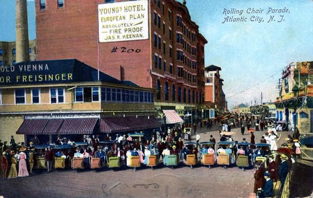 Rolling Chair Parade Atlantic City NJ
