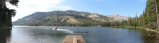 0060 The boat dock at the far end of north Echo Lake where the water taxi dropped us off with our backpacks | by _JFR_