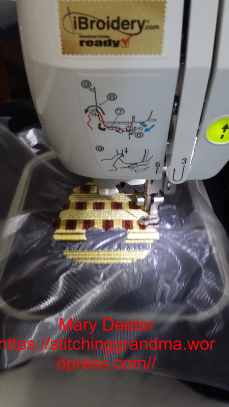Playing with variegated thread