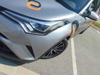2018 Toyota CH-R test