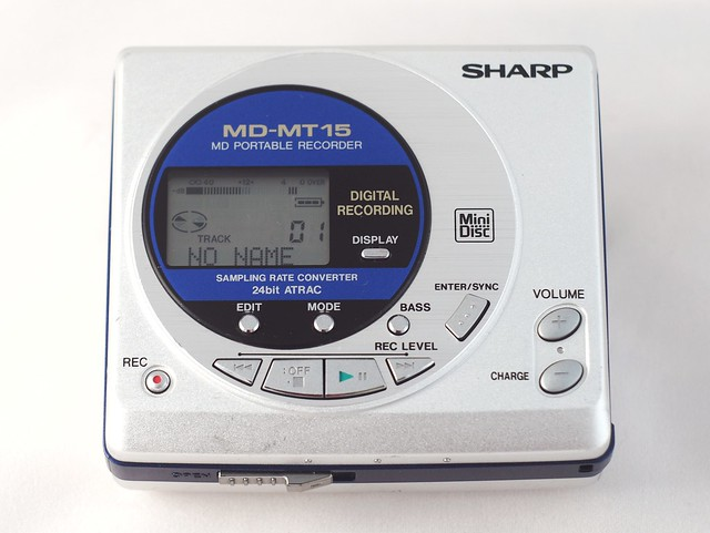 Sharp MD Player/Recorder  MD-MT15