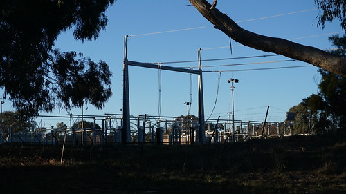 Power into the sub station