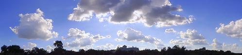 texas sky centraltexas hillcountry clouds panorama blue balcony view afternoon ambientlight skyline treeline landscape horizon vista summer