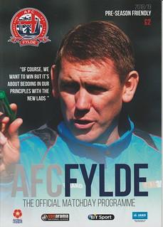 AFC Flyde V Carlisle United 21-7-18 | by cumbriangroundhopper
